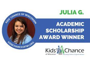 kidschanceofwisconsin-scholarship-award-julia-g