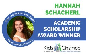kidschanceofwisconsin-scholarship-award-hannah-schacherl