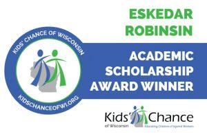 kidschanceofwisconsin-scholarship-awardED-eskedar-robinson